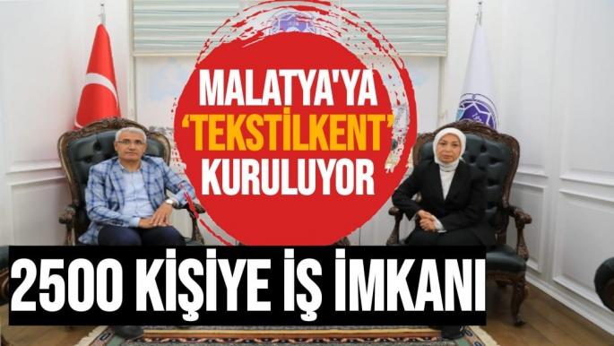 Malatya'ya Teksilkent kuruluyor