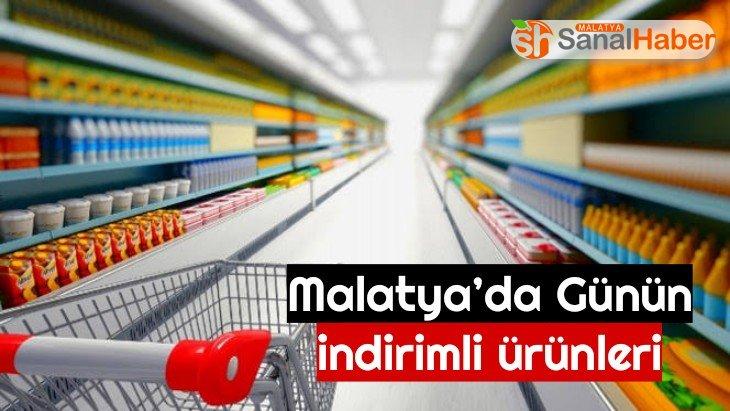 Malatya'da Günün indirimli ürünleri