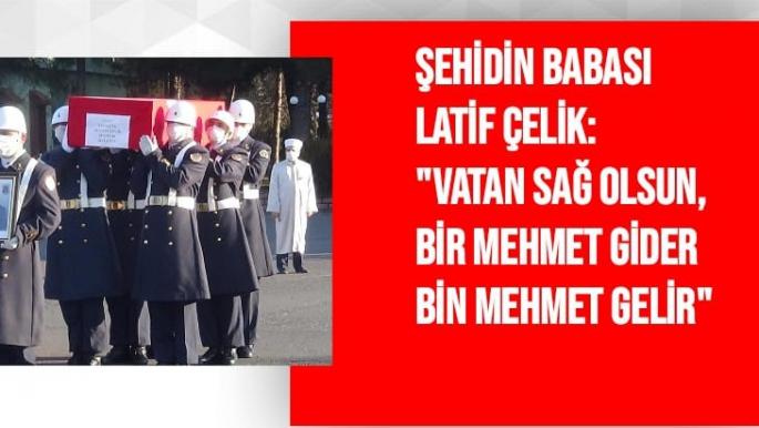 Malatyalı Şehit Diyarbakır'dan Malatya'ya Uğurlandı