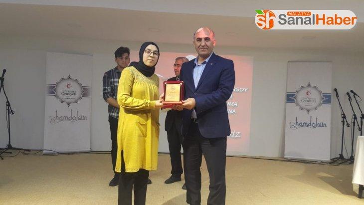 Mehmet Akif Ersoy'un şiirlerini güzel okumak için yarıştılar