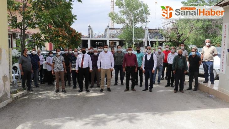 MHP İl Başkanı Samanlı, esnafın sorunlarını dinledi