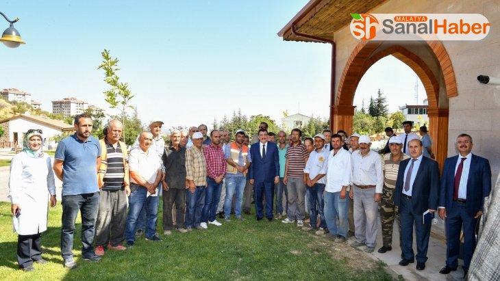 Milletvekili Çakır ve Başkan Gürkan Tabiat Parkını inceledi