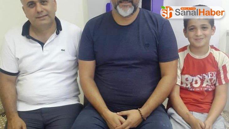 Minik Mustafa sağlığına Malatya'da kavuştu