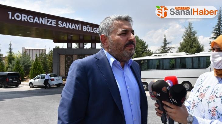 MTSO Başkanı Sadıkoğlu, OSB'de incelemelerde bulundu
