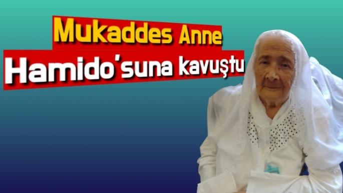 Mukaddes Anne Hamido'suna kavuştu