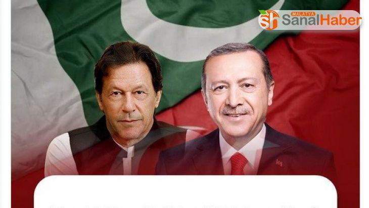 Pakistan Başbakanı Khan'dan Erdoğan'a '15 Temmuz Milli Birlik Günü' mesajı