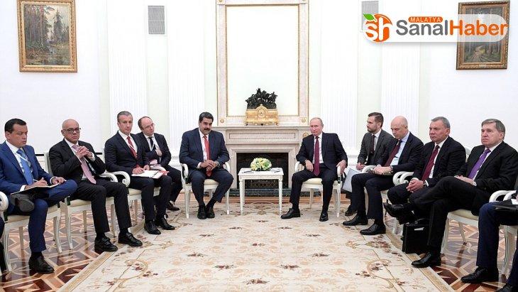 Putin: 'Venezuela'nın meşru yönetimini desteklemeye devam edeceğiz'