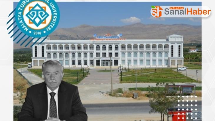 Rektör Karabulut'tan, Vahap Küçük için taziye mesajı