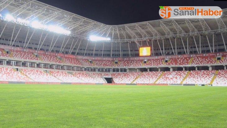 Sivas 4 Eylül Stadyumu İstiklal Marşı ile inledi!