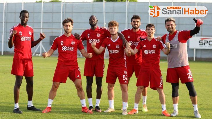 Sivasspor'da, Gençlerbirliği hazırlıkları başladı