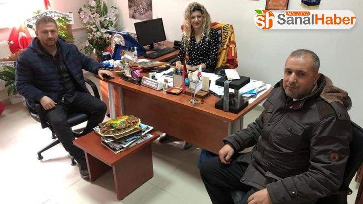 Spor Yöneticiliği Bölüm Başkanlığı'na atanan Bingöl'e ziyaret