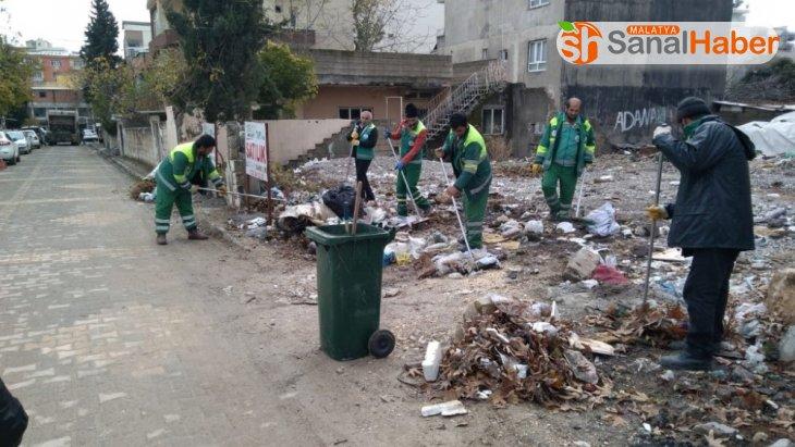 Sümerevler Mahallesinde temizlik seferberliği