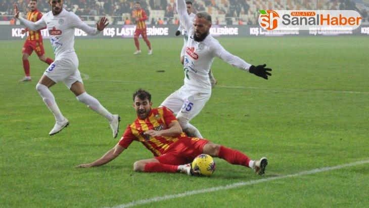 Süper Lig: Yeni Malatyaspor: 0 - Çaykur Rizespor: 2 (Maç sonucu)
