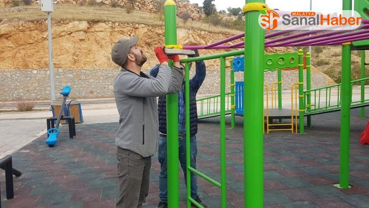 Tabiat parkında bakım ve onarım çalışmaları devam ediyor