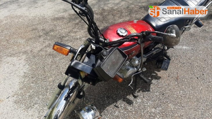 Tartıştığı kişinin motosikletini yaktı