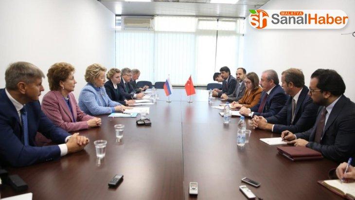 TBMM Başkanı Şentop: 'Barış Pınarı Harekatı hedefine uygun şekilde devam ediyor'