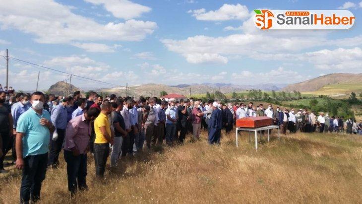 Malatya'da ki kazada hayatını kaybeden makinist son yolculuğuna uğurlandı