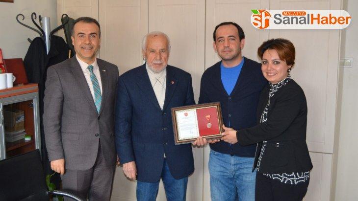 TSKGV bağışçısını madalya ve beraat ile ödüllendirdi