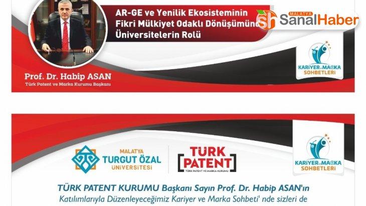 Türk Patent Kurumu Başkanı, MTÜ'de konferans verecek