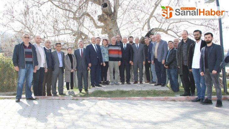 Türk Veteriner Hekimleri Birliği Merkez Konseyini ağırladı