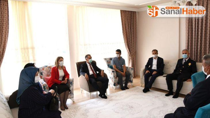 Vali Mahmut Çuhadar'dan 15 Temmuz gazilerine ziyaret