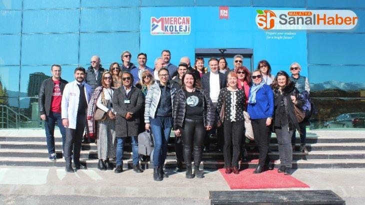 Yabancı eğitimci ve idareciler, proje kapsamında Malatya'da