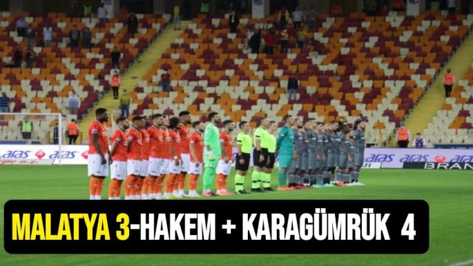 Yeni Malatyaspor 3 Fatih Karagümrük 4
