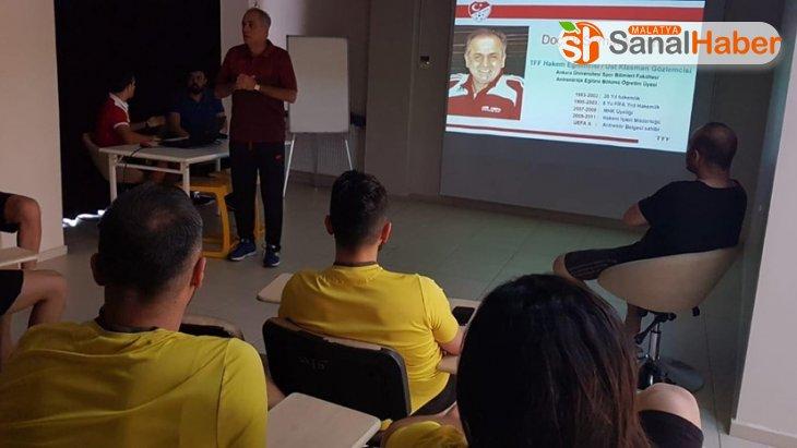 Yeni Malatyasporlu futbolculara değişen kurallar anlatıldı