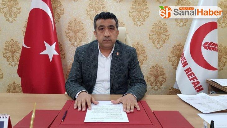 Yeniden Refah Partisi Adıyaman İl Başkanı koronaya yakalandı