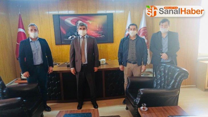 Yeşilyurt Belediyespor'dan polis ve savcılara maske