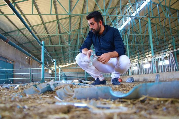 1 hafta boyunca çiftlikten 500 bin liralık malzemeleri çaldılar