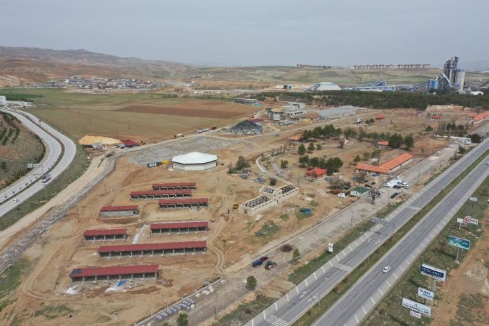 250 bin metrekarelik alana kurulan Hamidiye Kültür Parkı´nın 4 Eylül´de açılması planlanıyor