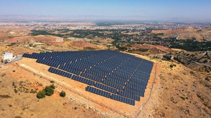 4 milyon 466 bin TL maliyetle güneş enerji santrali ilçeye umut oluyor
