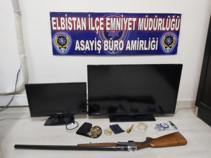 50 bin TL´lik altın çalan şüpheli tutuklandı