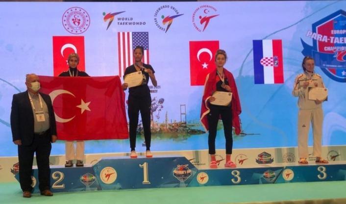 6. President Cup Europa Şampiyonası´nda 57 kiloda Gülse Polat 2. oldu