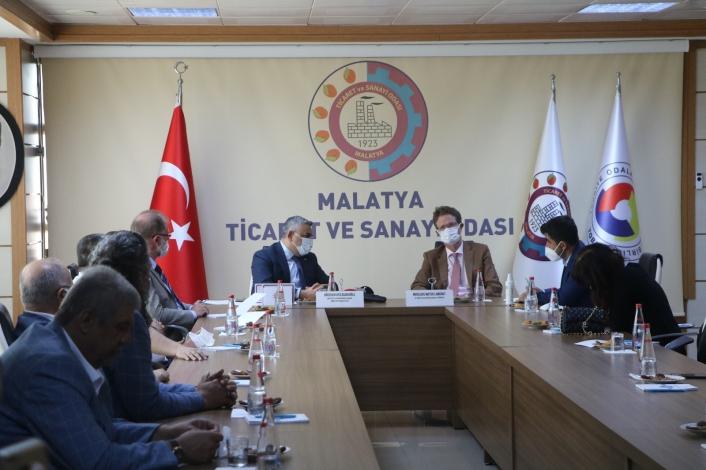 AB Türkiye Delegasyonu Başkanı´ndan MTSO´ya ziyaret