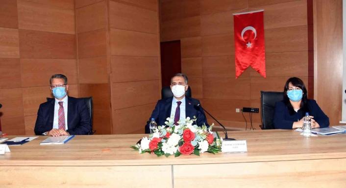Adıyaman´da il koordinasyon toplantısı yapıldı