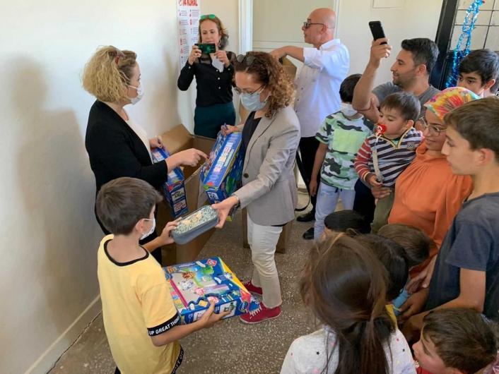 Adıyaman´da ilk köy halk kütüphanesi açıldı