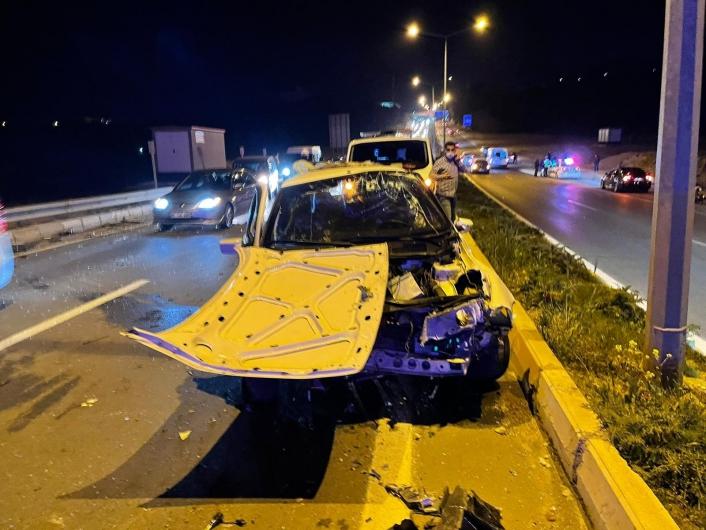 Adıyaman´da otomobil takla attı: 4 yaralı