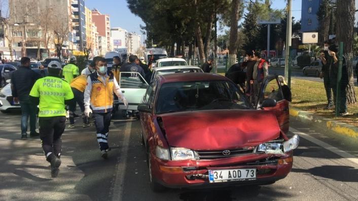 Adıyaman´da zincirleme kaza: 3 Yaralı