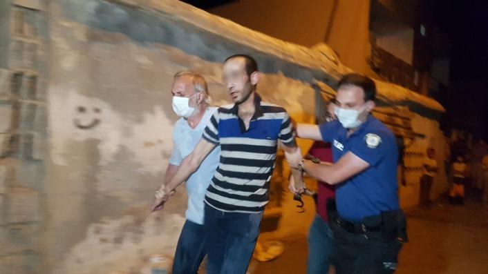 Ailesini rehin alan şahıs ifadesinin ardından serbest kaldı