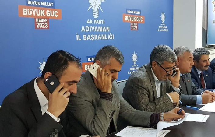AK Parti 34 bin üyesine telefonla ulaştı