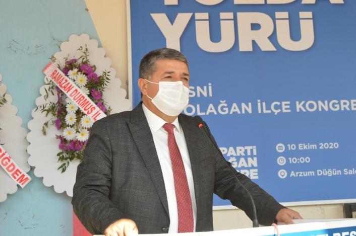 AK Parti Besni İlçe Başkanlığına İsmail Sümer seçildi