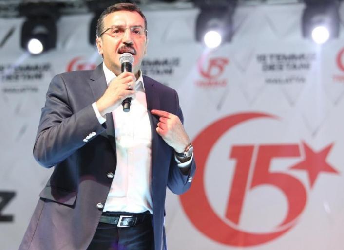 AK Partili Tüfenkci´den 15 Temmuz mesajı
