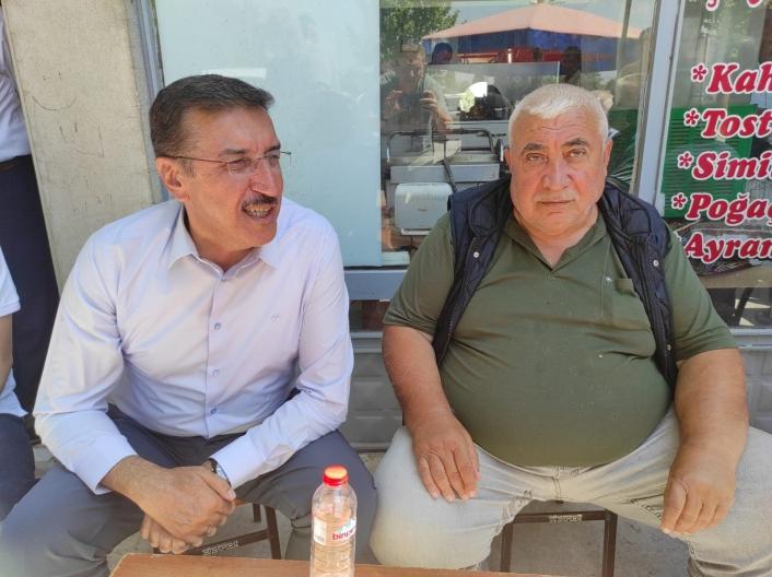 AK Partili Tüfenkci, yatırımları sıraladı, yeni müjde verdi