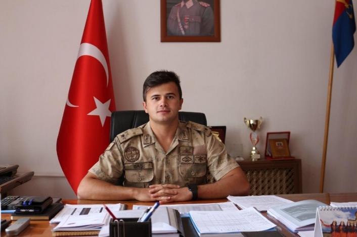 Akçadağ Jandarma Bölük Komutanı Halil Baş göreve başladı