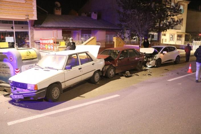 Alkollü sürücü ortalığı birbirine kattı