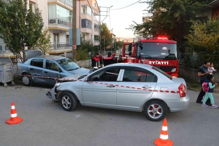 Ara sokakta meydana gelen kazada 1 kişi ağır yaralandı