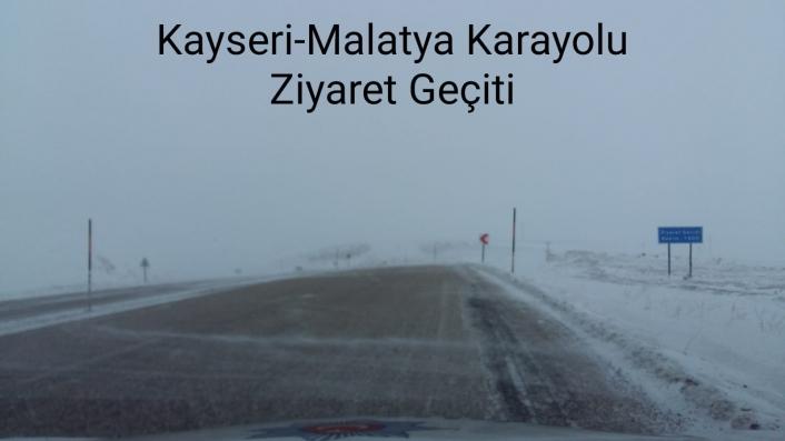 Araç sürücülerine kar ve buzlanma uyarısı