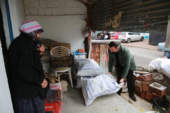 Atık odunlar, 2 Bin 300 ailenin evini ısıtacak